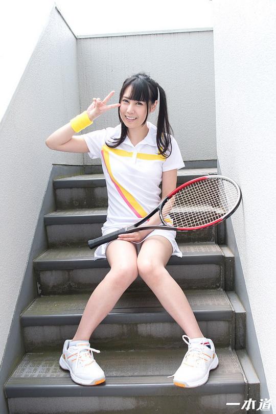 ときめき 〜笑顔が爽やかなテニス女子〜 豊田ゆう