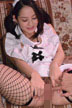 三橋杏奈 人妻メイドまにあ ~誕生日だからオマンコ魅せて~