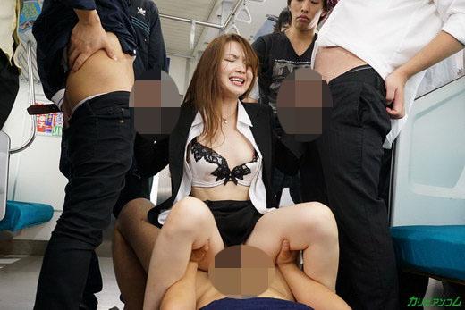 痴漢電車 ~狙われた美人OL~ 葉山瞳