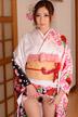 前田かおり 着物の下は卑猥な美マン