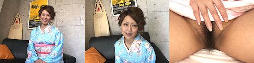 麻川麗 艶やかな巨乳着物美人